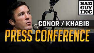 Video Conor McGregor had two options for the UFC press conference with Khabib Nurmagomedov... MP3, 3GP, MP4, WEBM, AVI, FLV April 2019