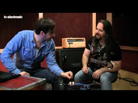 John Petrucci doing TonePrints for TC Electronic's Vortex Flanger - clean sounds