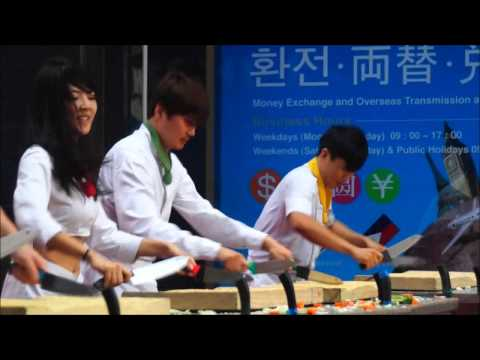 Nanta Musical Cookin Performance in Myeongdong - Seoul, South Korea