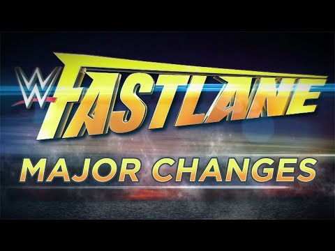 Video Major Changes To WWE Fastlane 2018 Main Event download in MP3, 3GP, MP4, WEBM, AVI, FLV January 2017