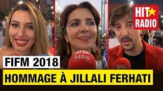 HOMMAGE À JILLALI FERHATI   FIFM 2018 AVEC MAROC TELECOM