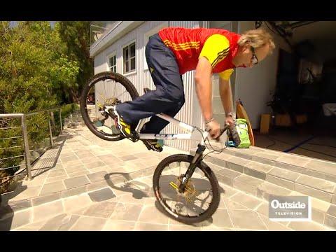 Professional Mountain Biker Hans Rey (видео)
