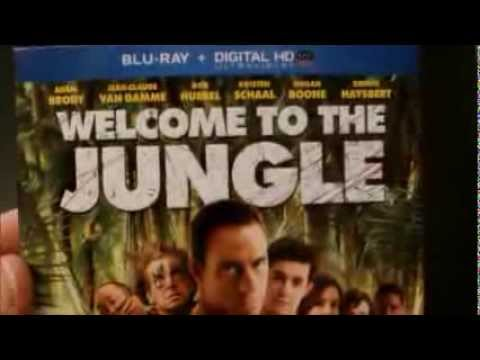 Welcome To The Jungle (2013) | Blu-ray | Box Art & Specs