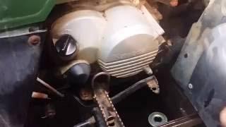 4. Kawasaki bayou 220 oil change