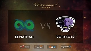 Leviathan vs Voidboy, game 1