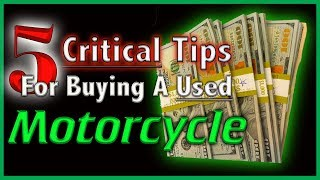 6. 5 Critical Tips For Buying a Used Honda Gold Wing
