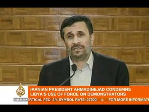 Ahmadinejad: Everyone should allow their people to talk!