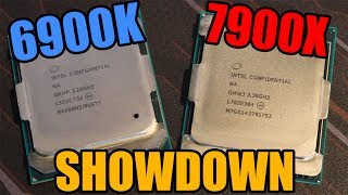 Today we review and overclock the i9-7900x against the i7-6900k and check the improvements!Big thanks to Fred (Intel) & Greg (Playtech) for making this video possible!Twitter: https://twitter.com/TechShowdownYTPatreon: https://www.patreon.com/TechShowdownAll tests conducted on their highest presets (aside from Deus Ex which was run at very high).