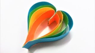 Learn how to make a simple and easy paper heart for decorations step by step.For more DIY Paper Craft Ideas, Videos & Tutorials, SUBSCRIBE to : http://www.youtube.com/CraftAndArtSchoolConnect with us on :FACEBOOK - https://www.facebook.com/CraftAndArtSchoolPINTEREST - http://www.pinterest.com/DIYCraftAndArtINSTAGRAM - http://www.instagram.com/craftandartschoolMusic by :Where I am From by Topher Mohr and Alex Elena.Downloaded from Youtube Audio library.