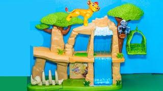 LION GUARD Disney Lion Guard Pride Lands Kion Play Set Lion Gu...