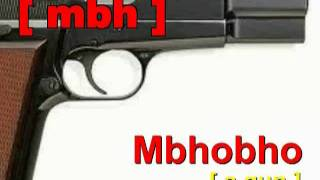 Learn Ndebele / Zulu: Learn to speak Ndebele by learning In this lesson you will learn Ndebele Phonetics. You will learn how to pronounce letters in Ndebele as ...