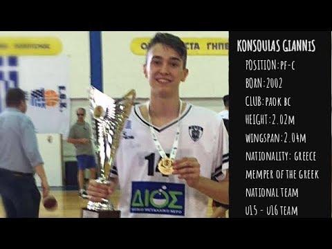 Ιωάννης Κόνσουλας Scouting Report (2017-2018)