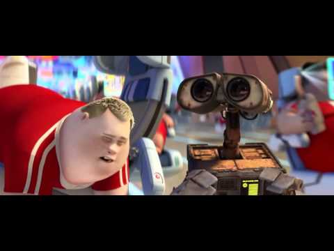 Wall - This is a clip from Wall-E. It illustrates the future dystopia we're headed to.