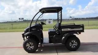 6. $8,249 NEW 2017 Kawasaki Mule SX XC SE Super Black Overview and Review