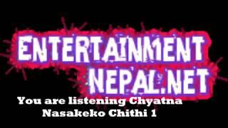 Chyatna Nasakeko Chithi 1
