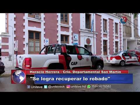 Un robo y un accidente fatal