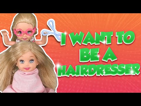 Barbie - I Want to Be a Hairdresser | Ep.154