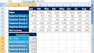 Highline Excel Class 22: Budgets, Scenarios&Scenarios Report