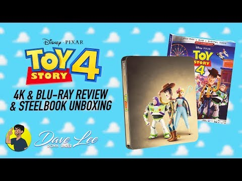 TOY STORY 4 - 4K Blu-ray Review & Steelbook Unboxing