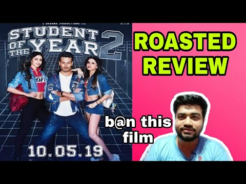 STUDENT OF THE YEAR 2 ROASTED REVIEW 🔥🔥