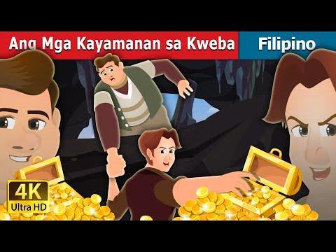 Ang Mga Kayamanan sa  Kweba   The Treasures in a Cavern Story   Filipino Fairy Tales