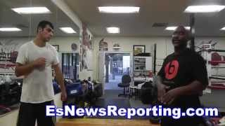 Floyd Mayweather Vs Manny Pacquiao Trainer Moves Like Both - EsNews