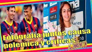 Paola Espinoza aparece en polemicas imagenes con Neymar y Messi, neymar, neymar Barcelona,  Barcelona, chung ket cup c1, Barcelona juventus