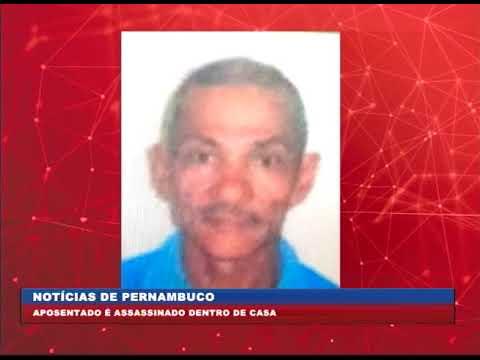 [BRASIL URGENTE PE] Aposentado é assasinado dentro de casa em Olinda