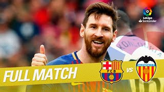Video Full Match FC Barcelona vs Valencia CF LaLiga 2017/2018 MP3, 3GP, MP4, WEBM, AVI, FLV April 2019
