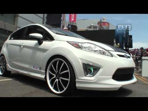 2011 DUB Edition Ford Fiesta shows its stuff at X Games 16