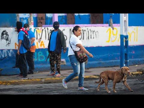 Blauhemden gegen Protestierende: Machtkampf in Nicara ...