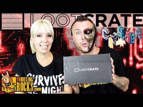 """Loot Crate June 2015 """"Cyber"""" Unboxing Review"""
