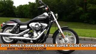 8. 2013 Harley Davidson Dyna Super Glide Custom - New Motorcycle for Sale
