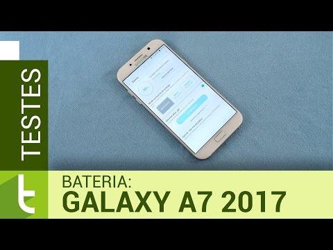 Autonomia do Galaxy A7 2017  Teste de bateria oficial do TudoCelular
