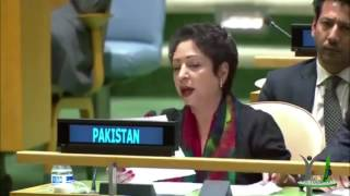 Pakistan Blasting reply to Indian Foreign Minister 'Sushma Swaraj at UNGA
