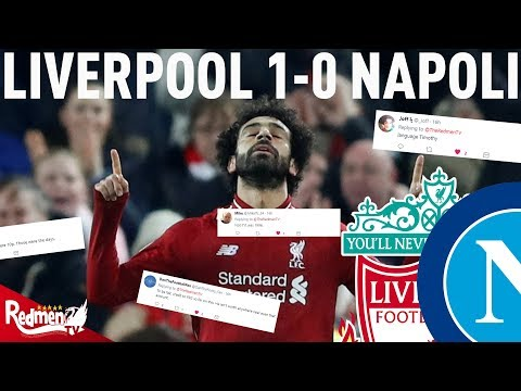 Liverpool V Napoli 1-0 | #LFC Fan Twitter Reactions