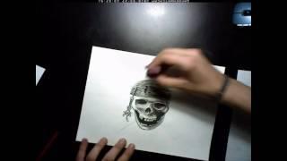 How to Draw Tattoo Skulls(VDO) YouTube video