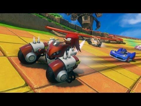Sonic All Star Racing (PS VITA)