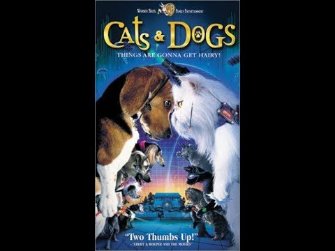 Opening to Cats & Dogs 2001 VHS (2003 Reprint)