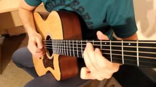Немного акустической гитары из рабочих моментов для PedalZoo, одна из любимых мелодий
