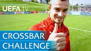 Xherdan Shaqiri: Crossbar challenge