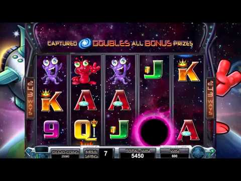 Galacticons slot game [GoWild Casino]