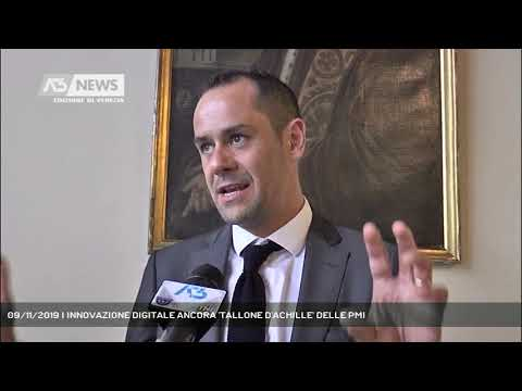 09/11/2019 | INNOVAZIONE DIGITALE ANCORA 'TALLONE D'ACHILLE' DELLE PMI