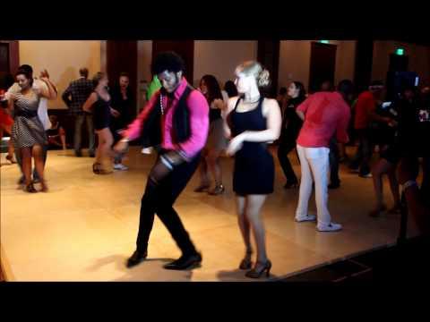 DC Salsa Congress 2012 - Terry of SalsAlianza and Maria Pia Sanz of Salsa Karibe (Social Dancing)