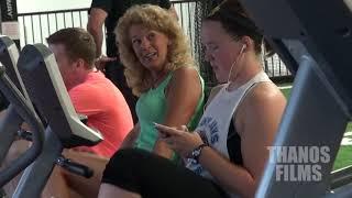 Urozmaicił trening każdemu! Świeżak na siłowni zaskoczył wszystkich! :D