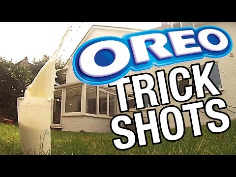This Guy's Oreo Trick Shots Are Almost Unreal