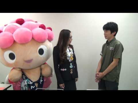 """いがまんちゃん(埼玉県羽生市)""""ゆるキャラが本気で壁ドン!"""""""