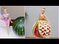 BARBIE WATERMELON DRESS By J Pereira Art Carving
