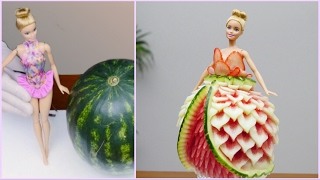Video BARBIE WATERMELON DRESS By J Pereira Art Carving MP3, 3GP, MP4, WEBM, AVI, FLV Januari 2019
