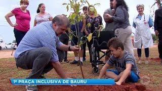Bauru: Vila Industrial ganha praça inclusiva